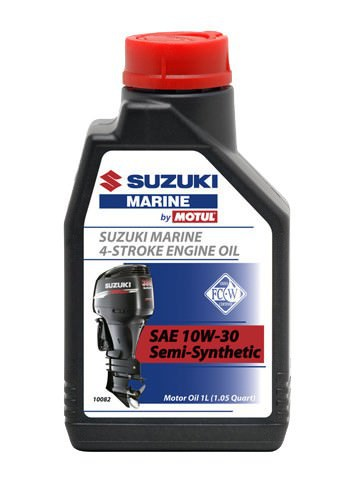 Масло моторное SUZUKI (Сузуки) MARINE Semi-Synthetic 4T, SAE 10W-30 (1л)